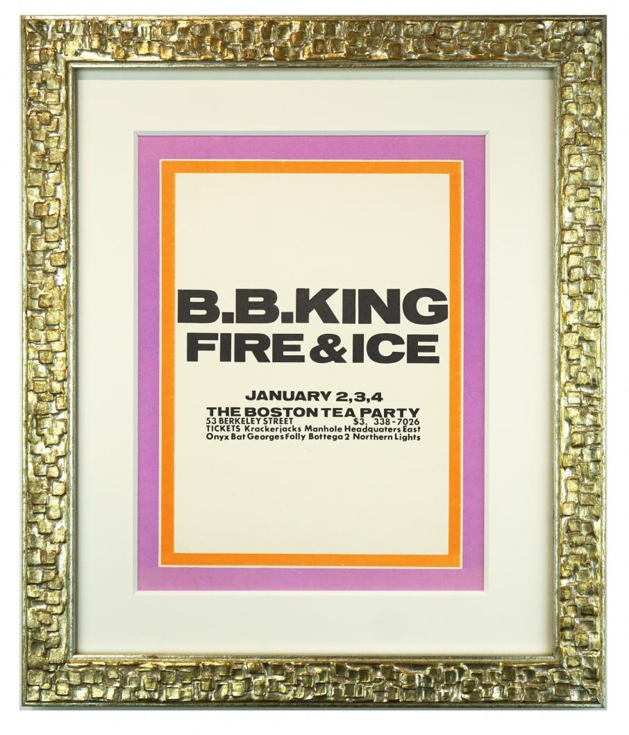 BB King, Boston Tea Party, 1969