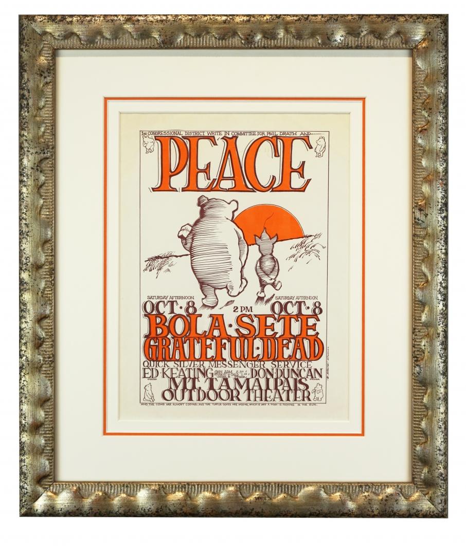 Pooh Peace Handbill - 1966