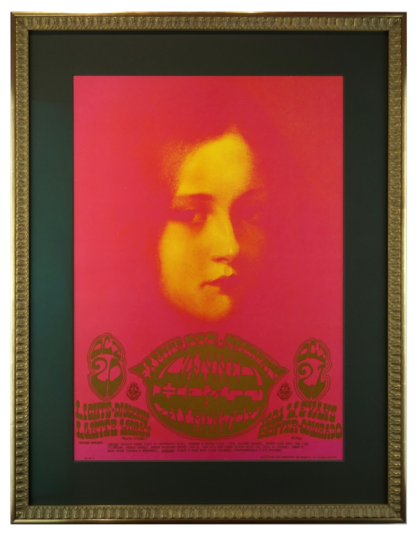 FDD-7  Poster for Canned Heat in Denver 1967