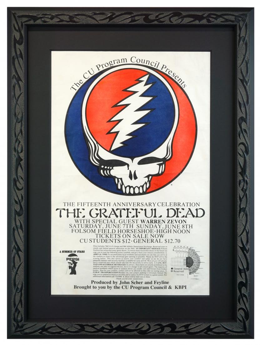 Grateful Dead, Warren Zevon, Colorado, 1980