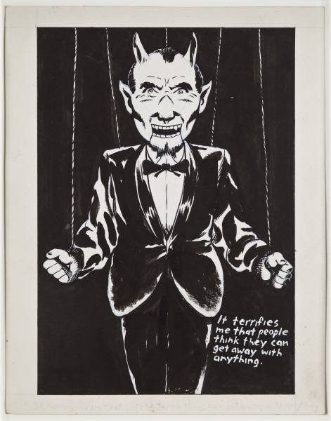 Raymond Pettibon, That will let