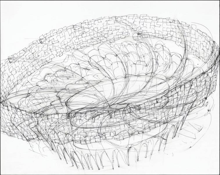 Jennifer Pastor - Study for Tickfaw sculpture
