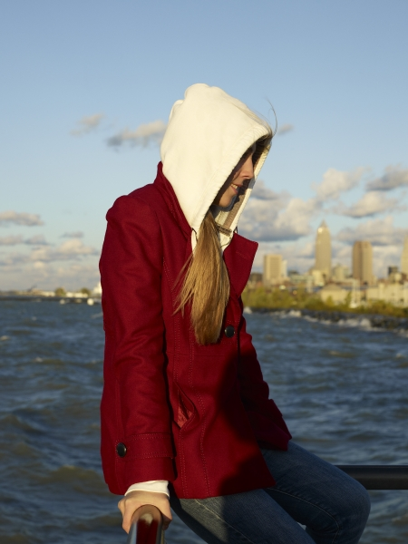 Catherine Opie, Girl with Red Jacket