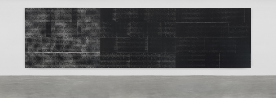 Glenn Ligon, Come Out Study #11