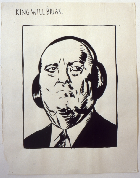 Raymond Pettibon, But answering his