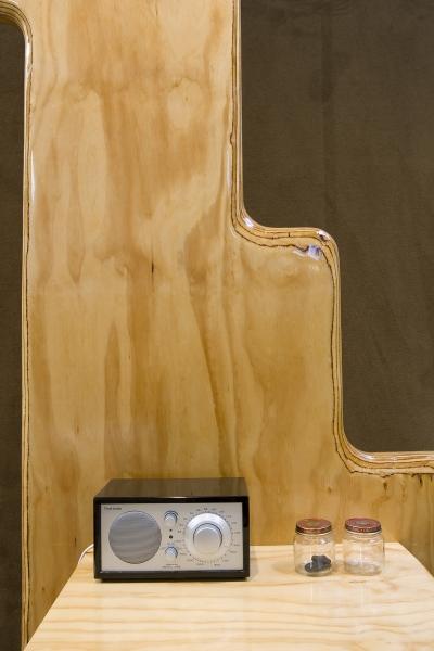 Andrea Zittel, RAUGH Furniture: Energetic Accumulator II