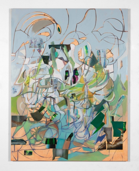 Elliott Hundley, Composition Green