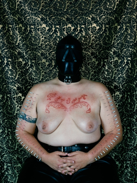 Catherine Opie, Self Portrait / Pervert