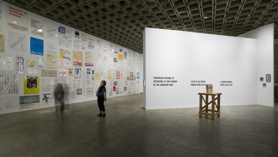 Lawrence Weiner Whitney