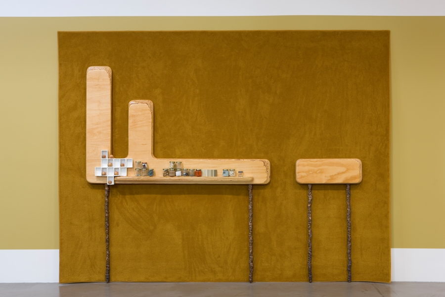 Andrea Zittel, RAUGH Furniture: Energetic Accumulator I