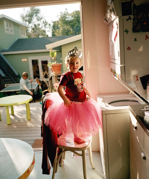 Catherine Opie, Oliver in a Tutu