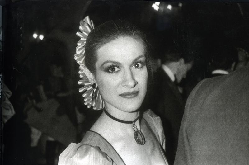 Bob Colacello, Paloma Picasso, Red Ball, Paris