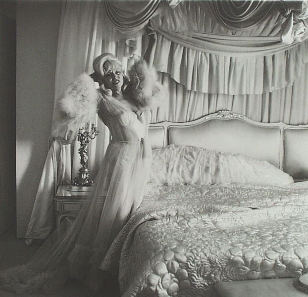 Diane Arbus - Mae West in her Bedroom
