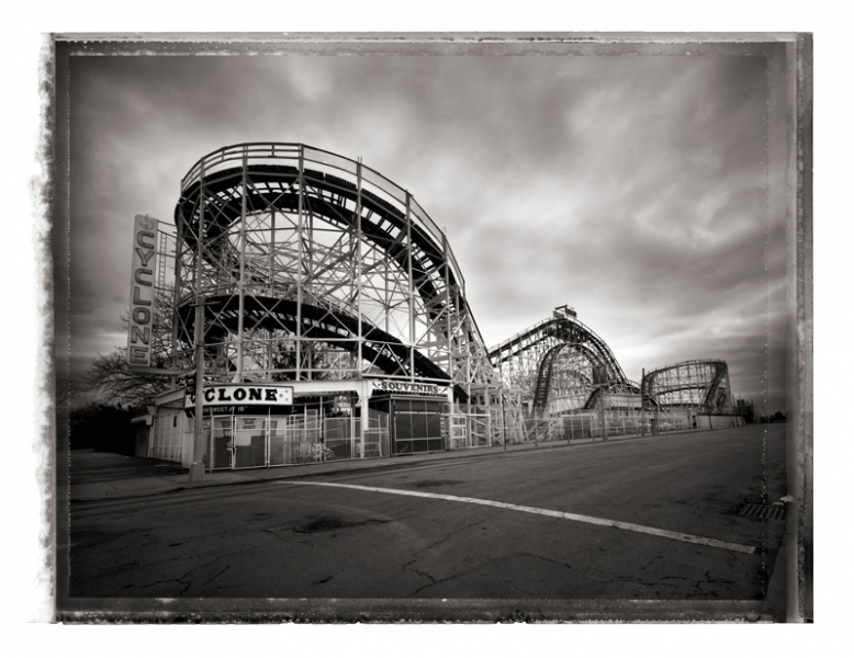 Christopher Thomas- Cyclone Roller Coaster, Coney Island