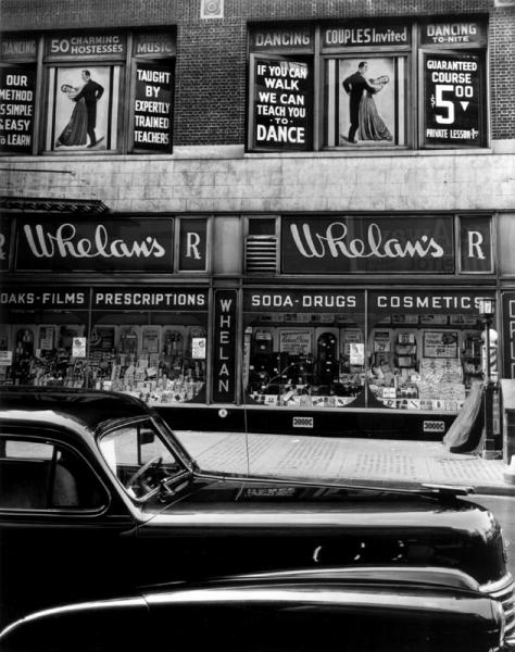 Brett Weston - Whelan's Drug Store, New York
