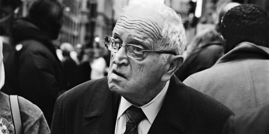 Leo Rubinfien, At Broadway and John Street