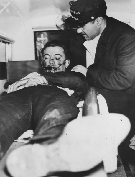 Weegee- Bandit Shot in Nightclub Howdy