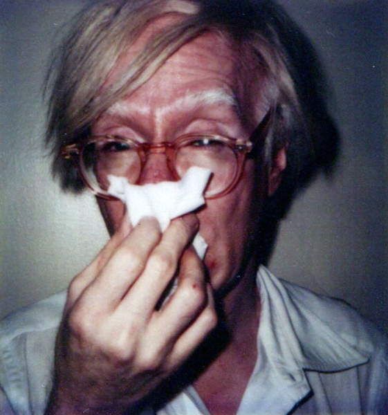 Andy Warhol- Self-Portrait