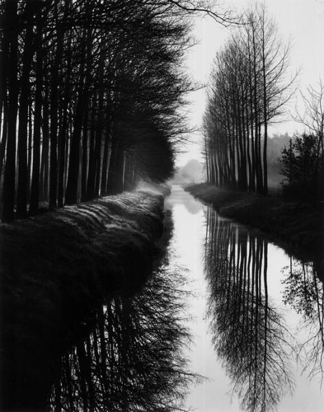 Brett Weston - Holland Canal