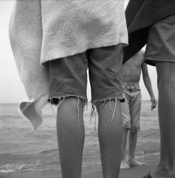 Vivian Maier- Untitled (Boys' Legs at Beach)