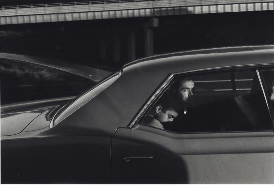 Burk Uzzle, Interstate Portrait