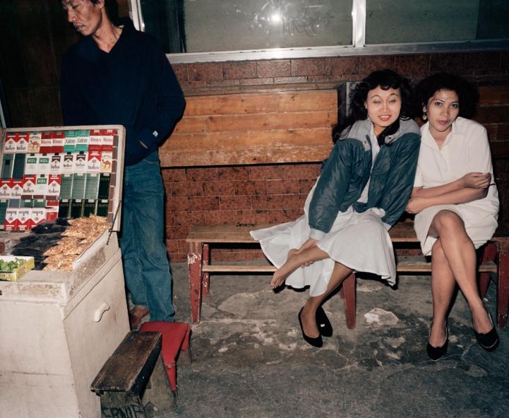 Leo Rubinfien- Bar Girls in a Back Street