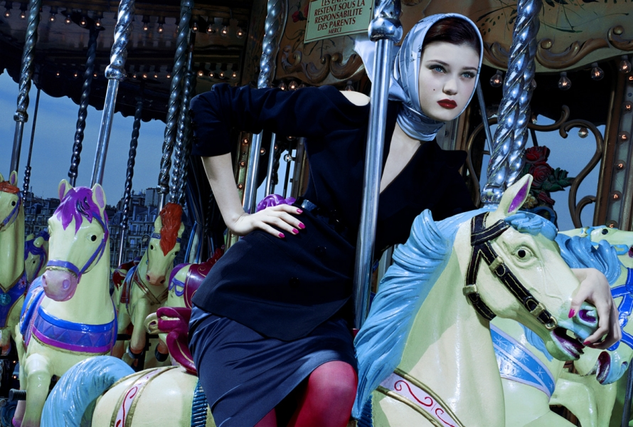 Miles Aldridge - Le Manege Enchante #1