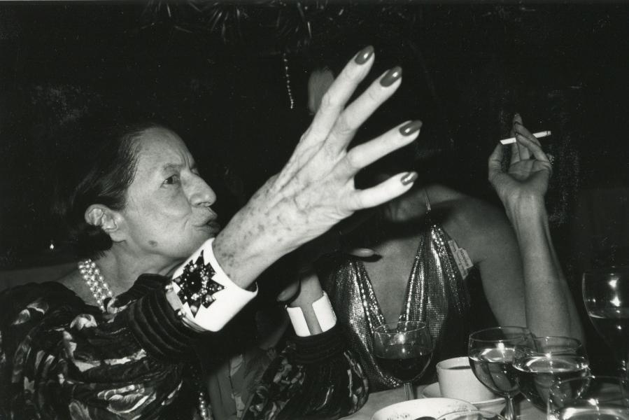 Bob Colacello - Diana Vreeland and Countess Consuelo Crespi at Doubles