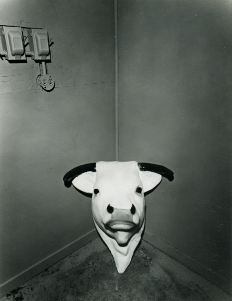 Burk Uzzle, Cornered Bull