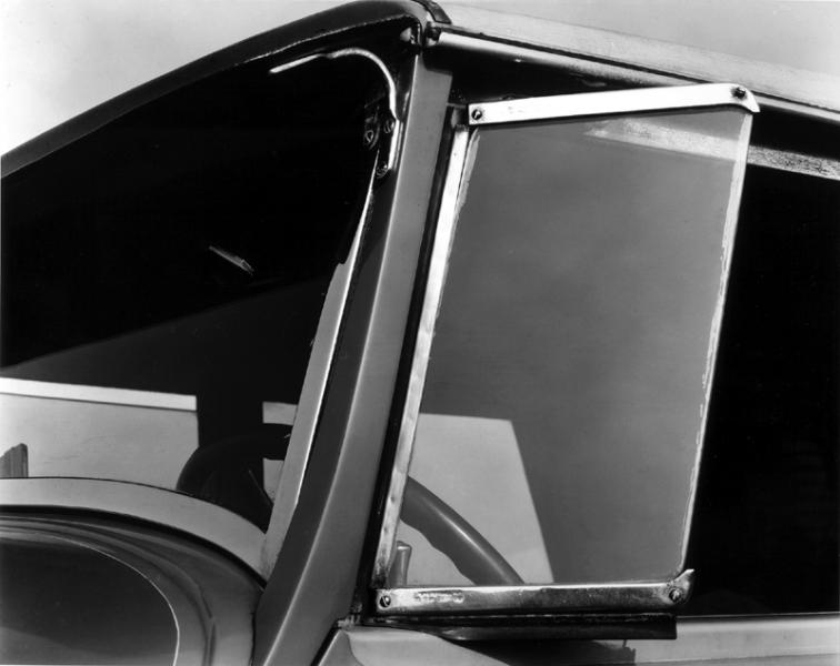 Brett Weston - Truck Window