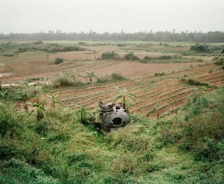 Leo Rubinfien- A Ruined Tank Turret