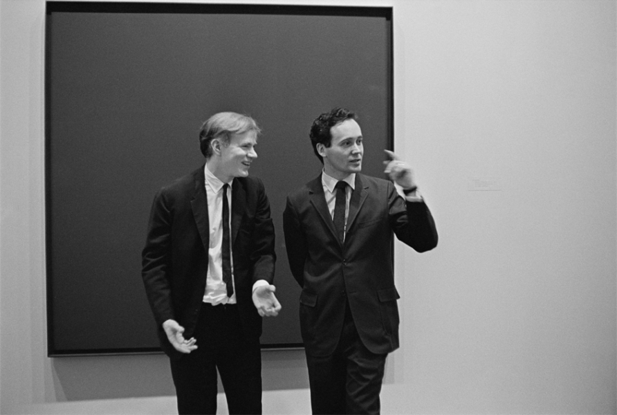 William John Kennedy- Andy Warhol and Robert Indiana