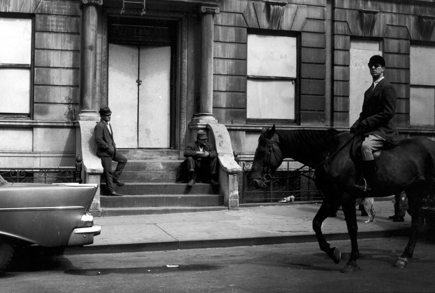 Jill Freedman, Gentrification, New York City