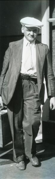 Weegee- Arthur Weegee Fellig Leaves News Building