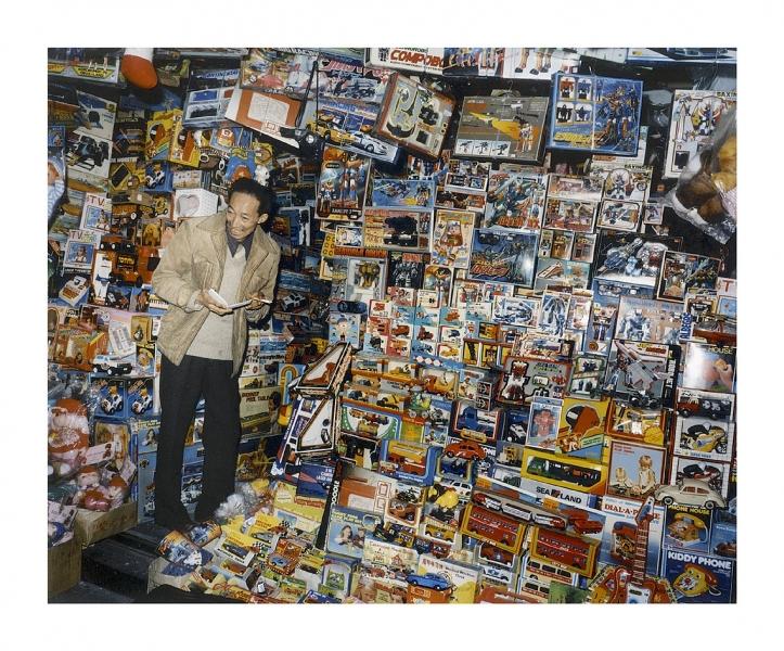 Leo Rubinfien- A Toy Seller, Hong Kong