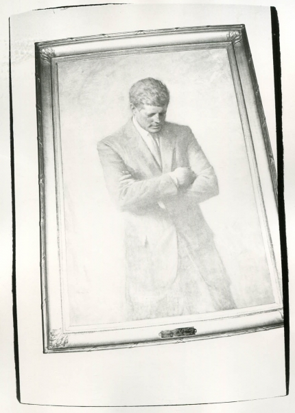 Andy Warhol - JFK Portrait