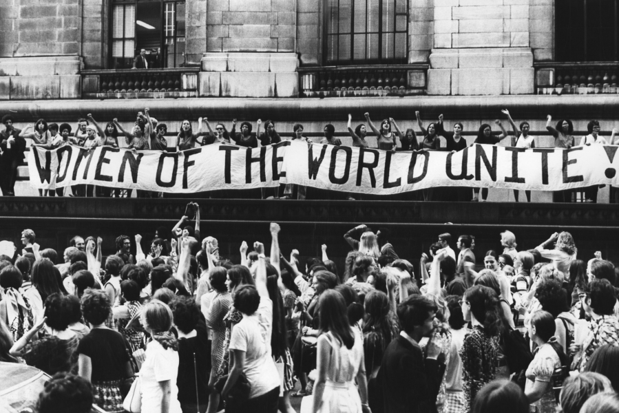 Fred W. McDarrah- Women of the World Unite