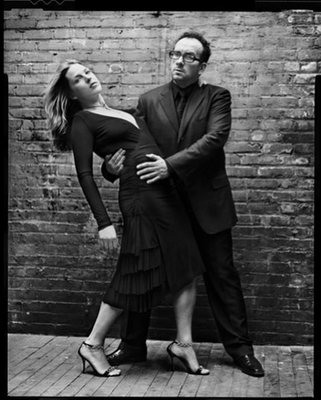 Mark Seliger- Elvis Costello & Diana Krall