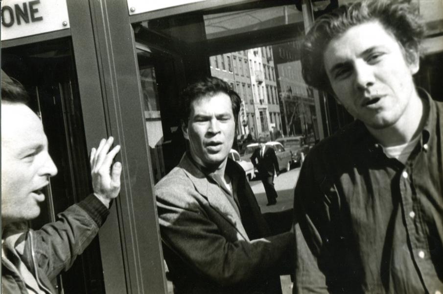 Fred W. McDarrah, Al Held, Peter Sander, and Max Spoerri