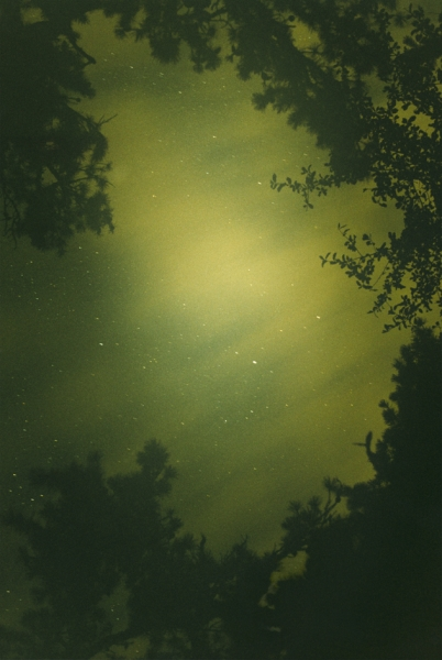 Ryan McGinley - Night Sky (Green