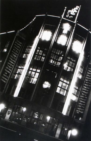Alexander Rodchenko - Building At Night