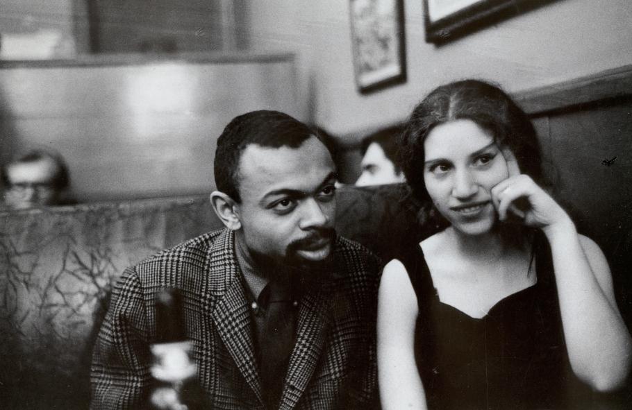 Fred W. McDarrah - LeRoi Jones and Diane di Prima