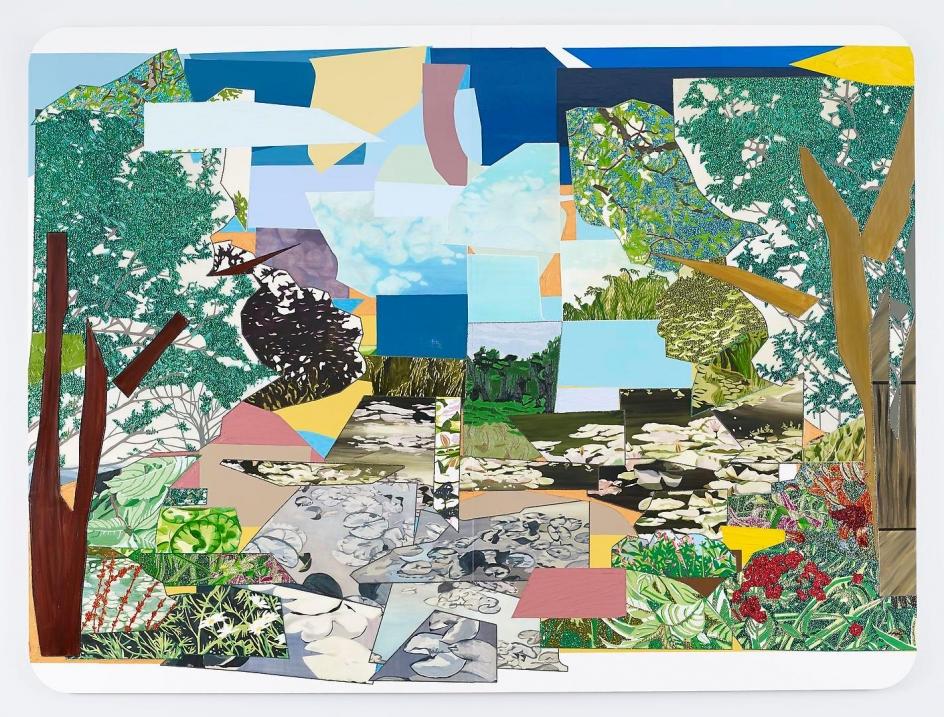 MICKALENE THOMAS Le Jardin d'Eau de Monet, 2012