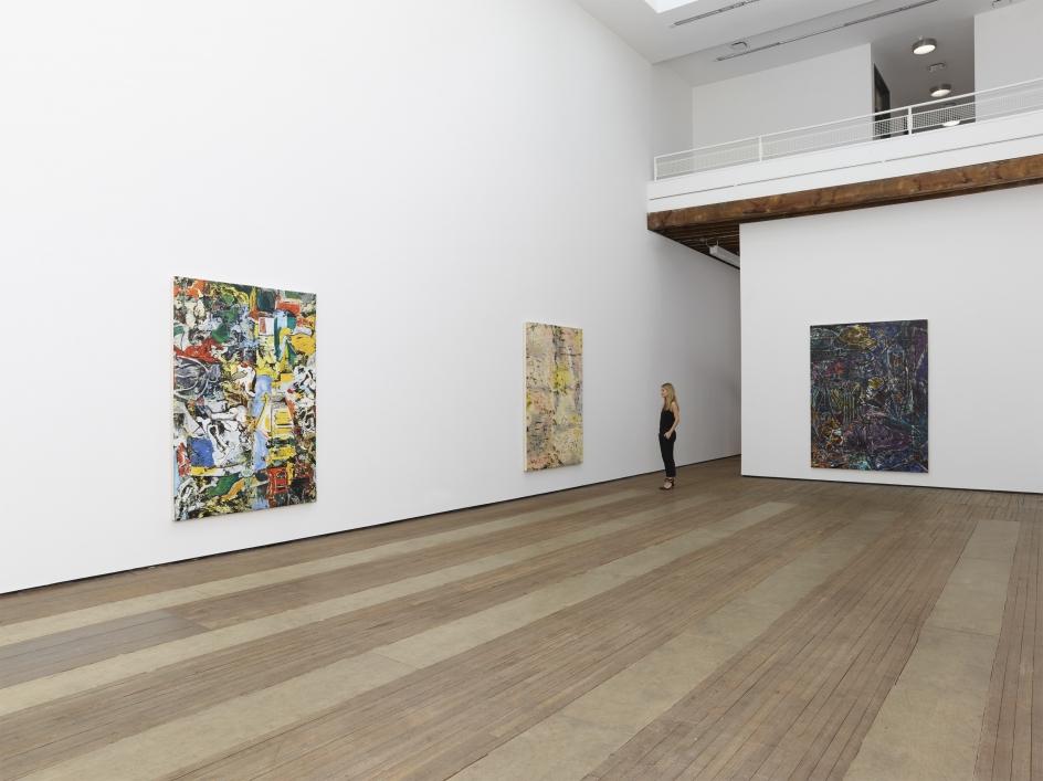 Angel Otero,New Paintings, Installation view, Lehmann Maupin, 201 Chrystie Street, New York, 2015
