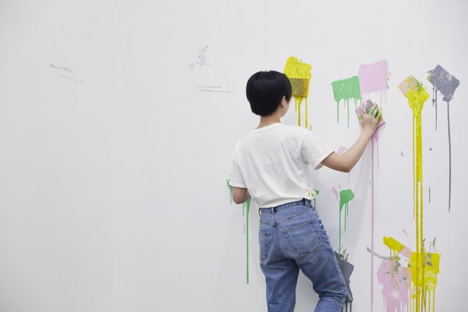 Erwin Wurm, Theory of Painting, 2019