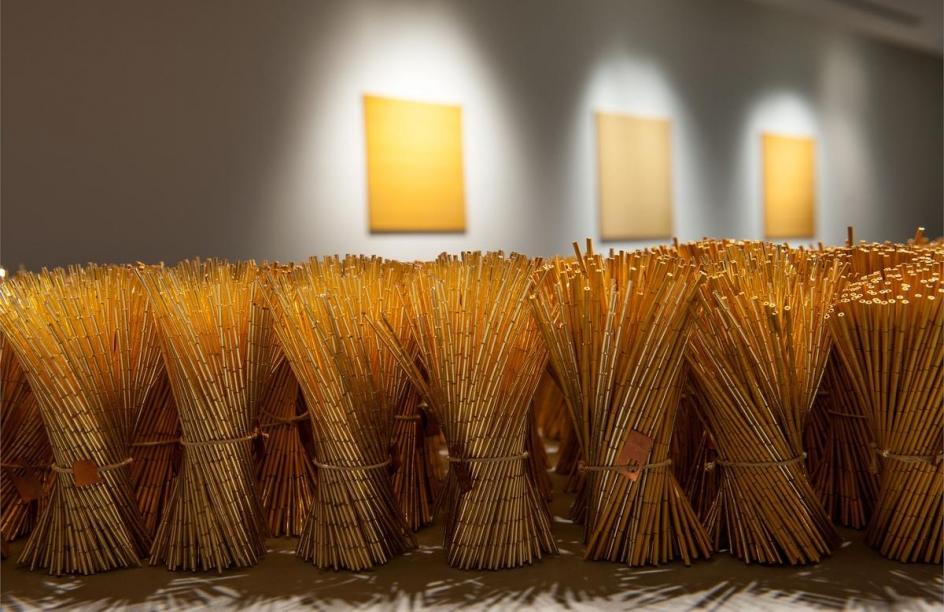 LIZA LOU, Gather (one million),2008–2010 (detail)