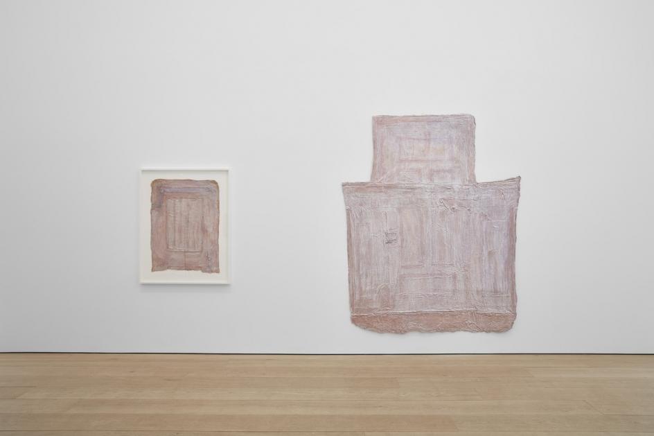 Heidi Bucher,The Site of Memory, Installation view atLehmann Maupin, New York