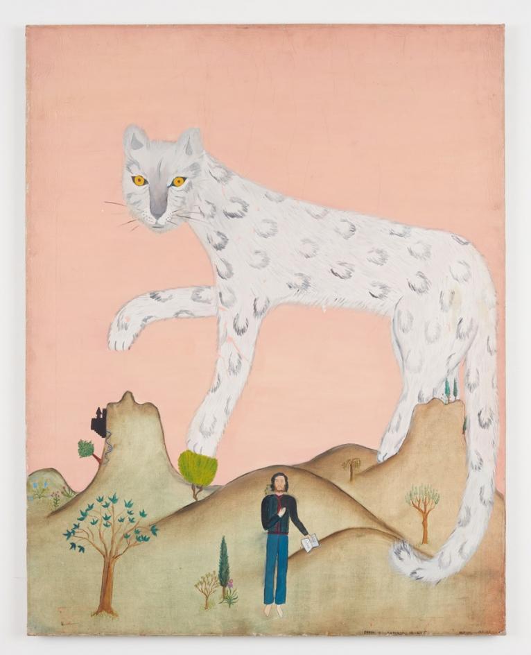 CECILIA VICUÑA, Leopardo de Nieve, 1969