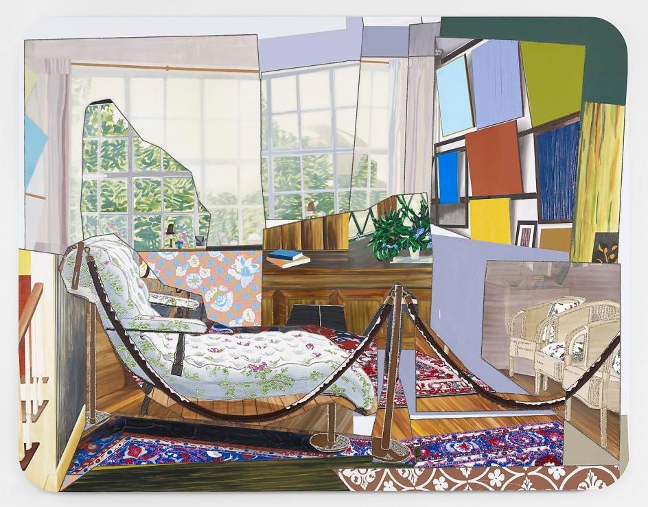 MICKALENE THOMAS Monet's Salon, 2012