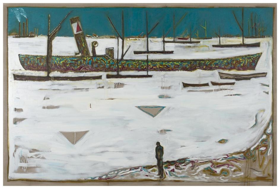 Billy Childish Frozen Estuary - Off Chatham, 1895 (Version Y), 2012